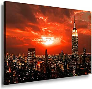 The City New York 4009. Size 100x70x2cm(l/h/w). Canvas On Wooden Frame. Made In Germany.
