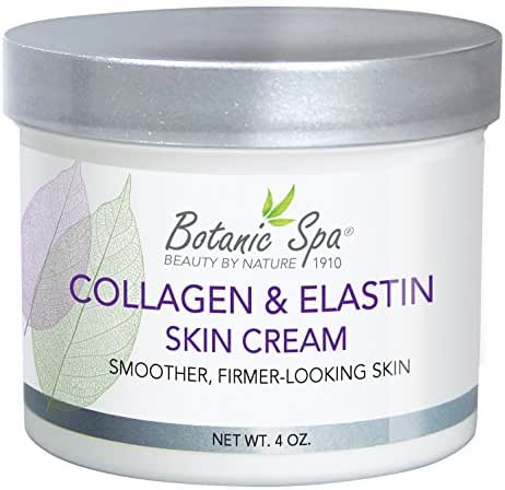 Botanic Spa Collagen and Elastin Skin Cream, 4 Fluid Ounce
