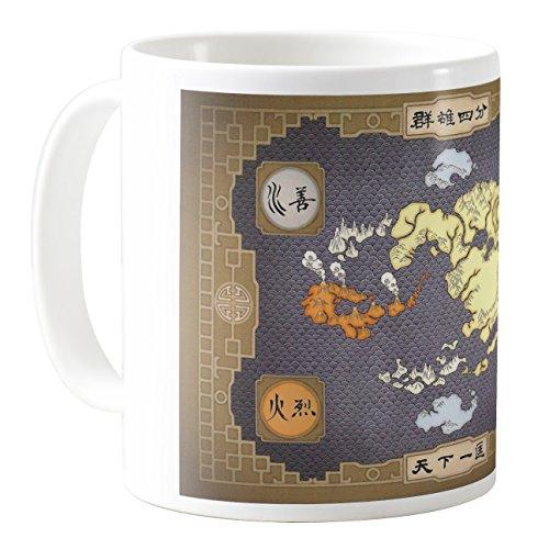 AquaCafeMug - CMSTL-A79412 - 11oz Ceramic Coffee Mug Tea Cup (Avatar The Last Mug)