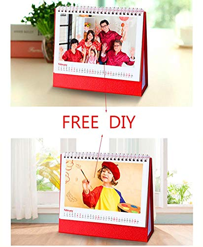 Free Design Custom-Made 2019 2020 Large Monthly Desk or Wall Calendar Planner,for DIY Family Business Office Calendar (Include 10 Pieces)