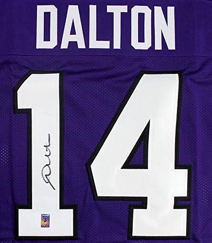 Andy Dalton Signed Autographed TCU Horned Frogs Custom Jersey ...