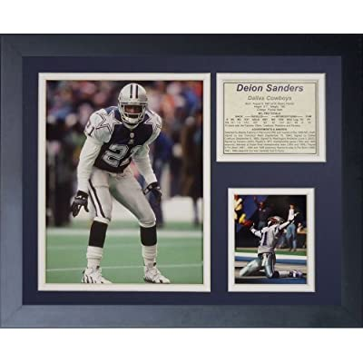 "Legends Never Die ""Deion Sanders"" Framed Photo Collage, 11 x 14-Inch by Legends Never Die"