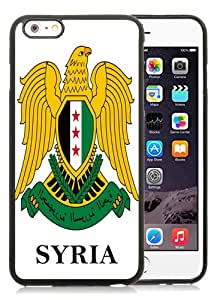 Hot Sale Syria - Coat Of Arms Flag Black iPhone 6 Plus/6S Plus 5.5 inches Screen TPU Phone Case Fashion and Cool Design