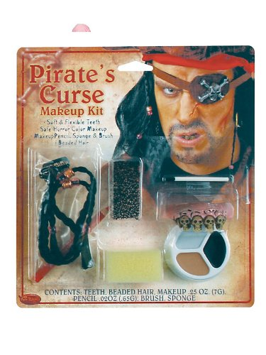 Kids Pirate Makeup (Pirate Horror Character Kit Costume Makeup)