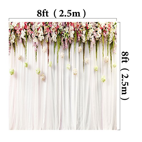 kate wedding photo backdrops white wedding party backgrounds for