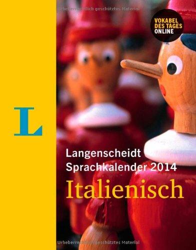 Langenscheidt Sprachkalender 2014 Italienisch - Kalender