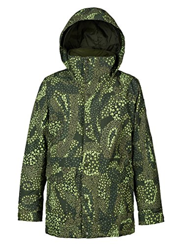 Burton Youth Girls Echo Jacket, Honeydew Paisley, (Burton Girls Fleece Jacket)