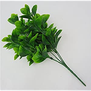 FYYDNZA Batch Simulation Artificial Green Plant Watercress Grass Plant False Wedding Flower Arrangement Diy Decoration 15