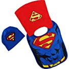 Superman Infant Caped Bib Hat Set IUX41849