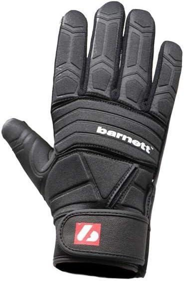 DL Black BARNETT FLG-03 Professional Linemen Football Gloves OL