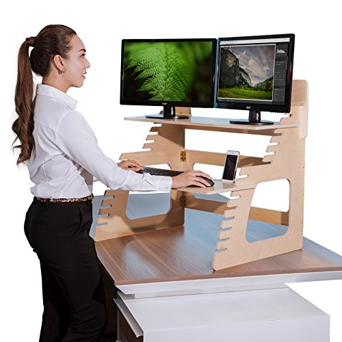 Standing Desk Converter Well Adjustable product image