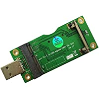 Mini PCI-E to USB Adapter With SIM card Slot for WWAN/LTE Module