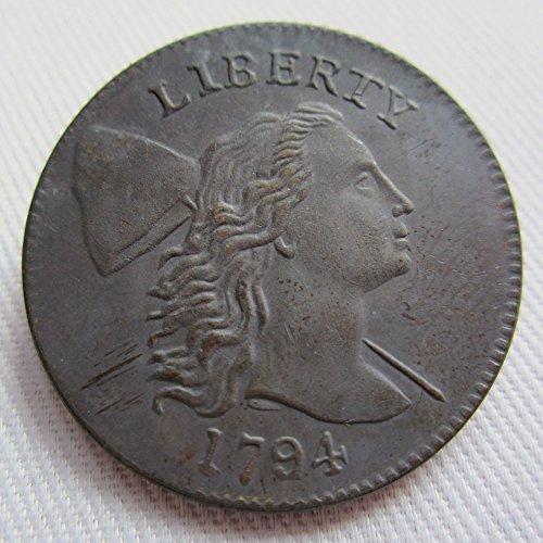 1794 Liberty CAP Large Cent Coin COPY