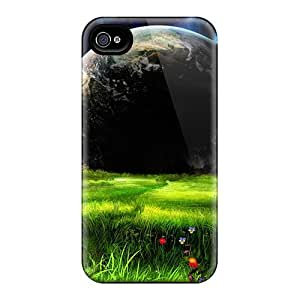 Ajephke HWuvezc6854HwxJv Case Cover Iphone 4/4s Protective Case Rare Earth