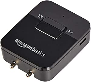 AmazonBasics - 2-in-1 Bluetooth Transmitter/Receiver Adapter