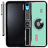 Custom Case Compatible with iPhone XR (Kodak Instamatic Mint) Edge-to-Edge Rubber Black Cover Ultra Slim   Lightweight   Includes Stylus Pen by Innosub