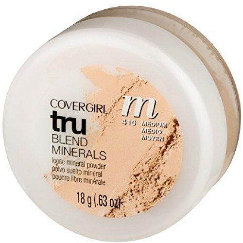 CoverGirl TruBlend Minerals Loose Powder, Medium [410] 0.63 oz ( Pack of 2)