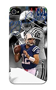 Guidepostee Brand New Defender Case For Iphone 5/5s (Indianapolis Colts Christmas Card) / Christmas's Gift