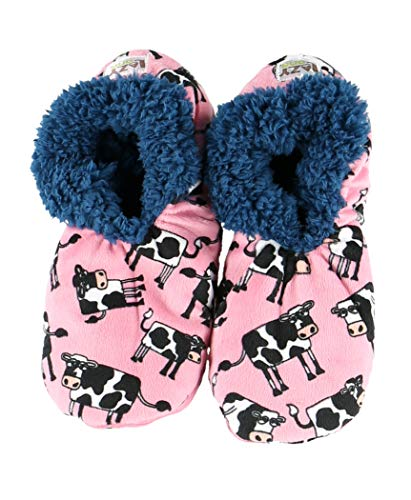 0ffd59ae03f1 Moody in The Mornings Womens Plush Fuzzy Feet Slippers by LazyOne