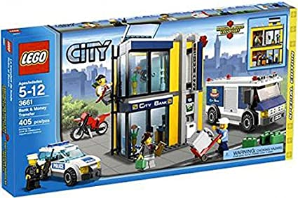 Amazoncom Lego City Special Edition Set 3661 Bank Money Transfer