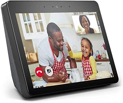 """Echo Show — Premium 10.1"""" HD smart display with Alexa – stay connected with video calling – Charcoal 51C1l8cez1L"""