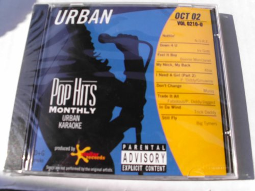 Karaoke Multiplex - PHMU-0210 POP HITS MONTHLY URBAN RAP R&B Karaoke CDG OCTOBER 2002 MULTIPLEX