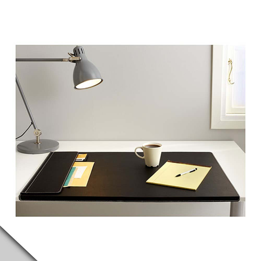 Amazon Com Ikea Rissla Desk Pad Black Office Products