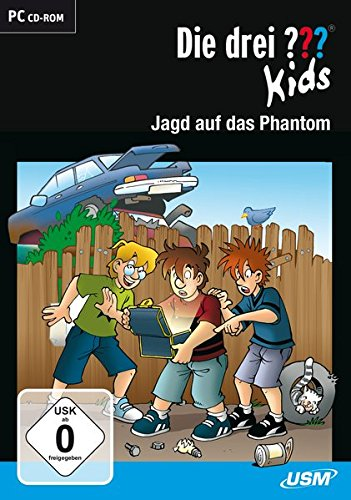 Die drei ??? Kids. Jagd auf das Phantom (drei Fragezeichen) CD-ROM