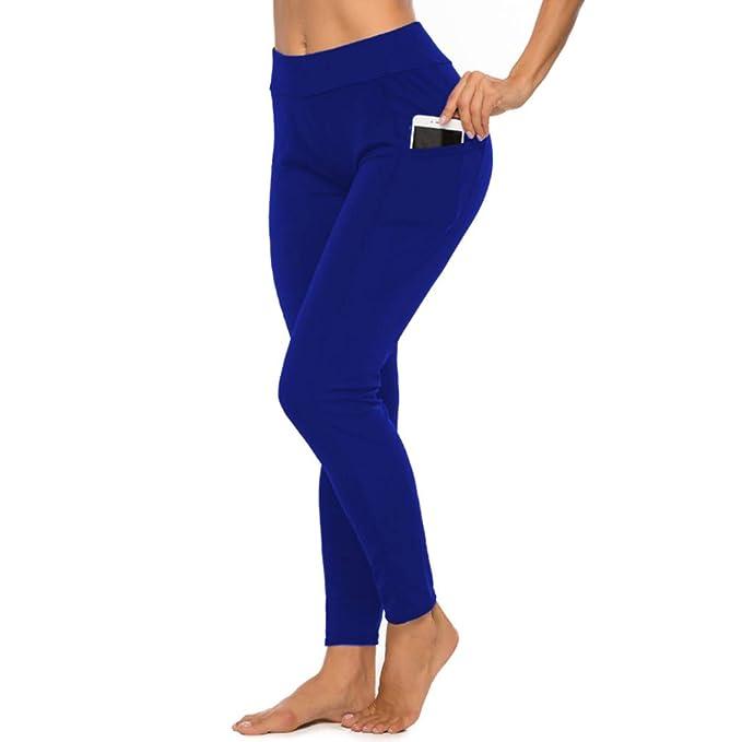 Vectry Pantalones Mujer Pantalones Deportivos Sin Costuras ...