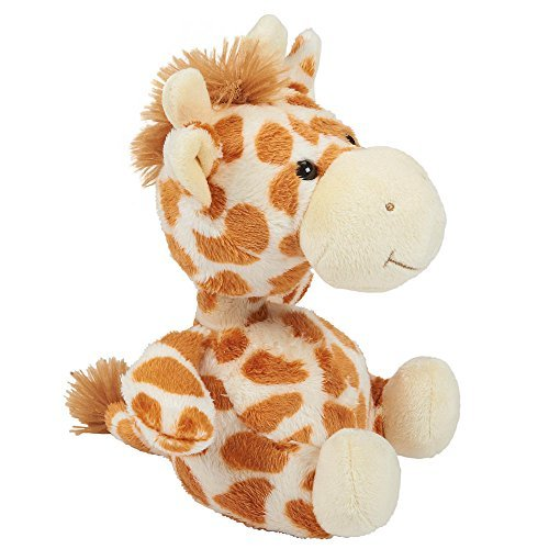 Toys R Us Plush 7 inch Bobble Head Giraffe - Tan
