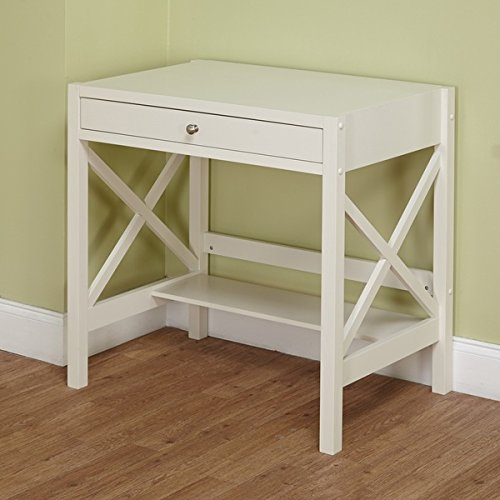 Perfect Trestle Desk White Is A Small Corner Computer Desk
