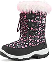 DREAM PAIRS Toddler/Little Kid/Big Kid Nordic Knee High Winter Snow Boots