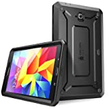 SUPCASE Samsung Galaxy Tab 4 7.0 Case - Unicorn Beetle PRO Series Full-body Hybrid Protective Case with Screen Protector (Black/Black), Dual Layer Design/Impact Resistant Bumper Prime