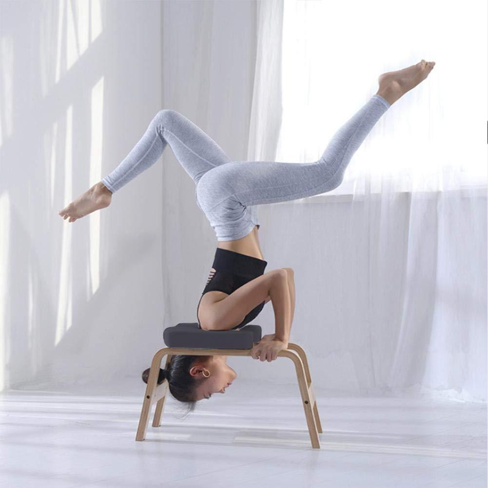 Rainmood Silla De Inversión De Yoga Headstand Bench Taburete ...