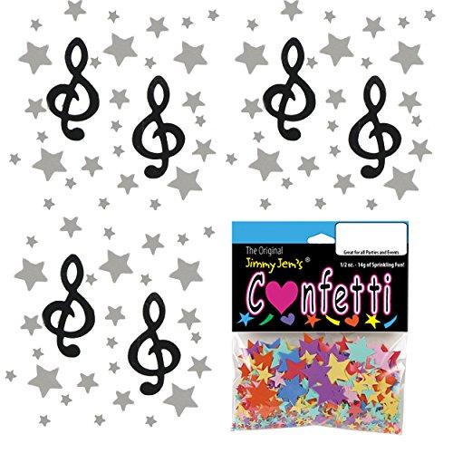 (Confetti Mix - Stars and Sounds - 2 Half Oz Bags (1 oz) (9512))