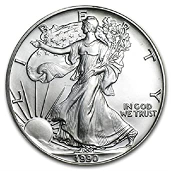 2010 1 oz American Silver Eagle .999 Fine Silver with our Certificate of Authenticity