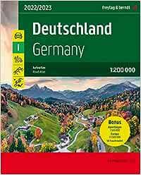 Deutschland, Autoatlas 1:200.000: Mit Kartenteil Alpenbogen 1:500.000 und 50 Traumrouten: DE SP