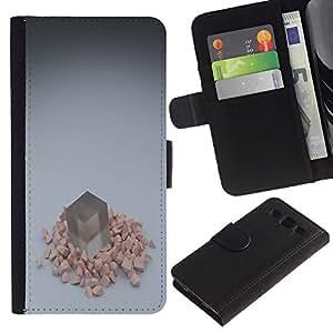 UNIQCASE - Samsung Galaxy S3 III I9300 - Cube - Cuero PU Delgado caso cubierta Shell Armor Funda Case Cover