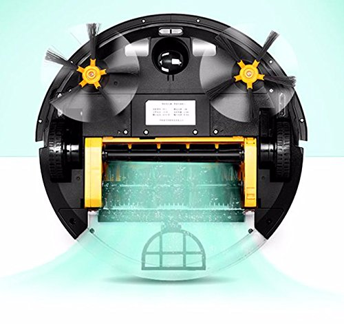 Mamibot Prevac 650 Self Recharging Time Scheduling Wet Mopping Wi-Fi Connected Robotic Vacuum Cleaner Big Water Tank Champagne Color US Adapter by MiniInTheBox