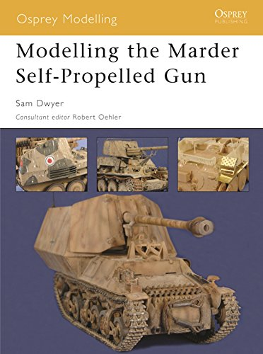 - Modelling the Marder Self-Propelled Gun (Osprey Modelling)