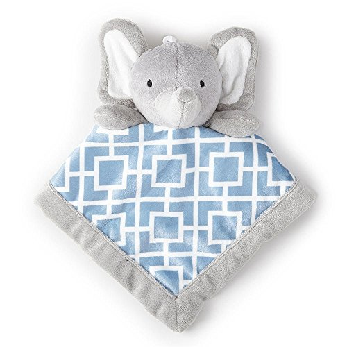 Levtex Home Baby Grey Elephant Security Blanket by Levtex Home