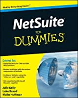 NetSuite For Dummies Front Cover