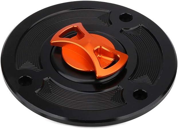 Fast Pro CNC /à gaz du r/éservoir de Carburant Huile Bouchon Coque sans cl/é pour KTM Duke 125/200/390
