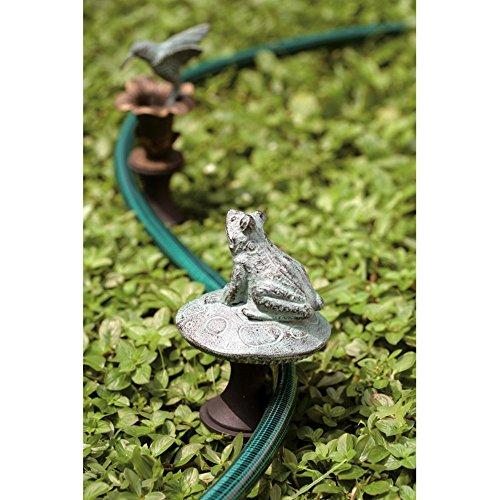 - SPI Home 33146 Frog on Mushroom Hose Guard