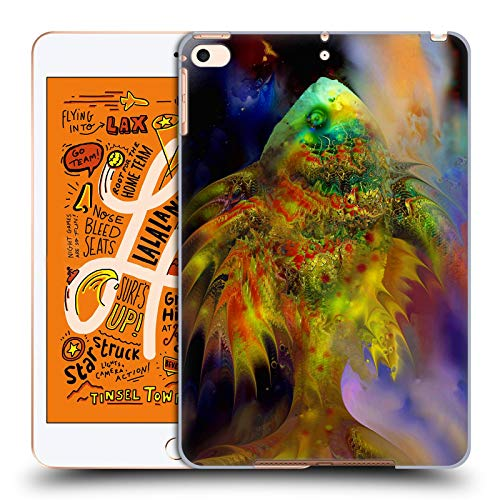 Official Runa Magical Green Fish Sea Creatures Hard Back Case Compatible for iPad Mini (2019)