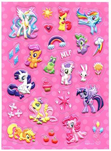 Hasbro My Little Pony Raised Sticker Sheet Savvi