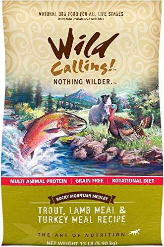 Wild Calling Rocky Mountain Medley - Trout/Lamb/Turkey Meal - 13 lb