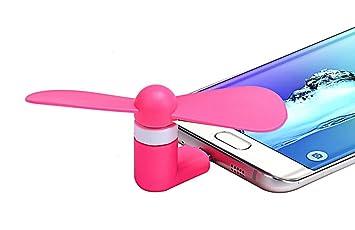 Micro USB ventilador para teléfono celular, rontel portátil Dock ...