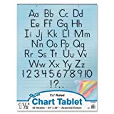 PAC74733 - Colored Chart Tablet