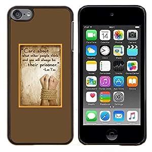 Stuss Case / Funda Carcasa protectora - Parchemin abus Sad - Apple iPod Touch 6 6th Touch6